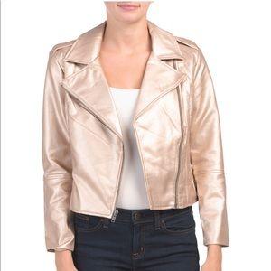 NWT!! BB DAKOTA faux leather jacket